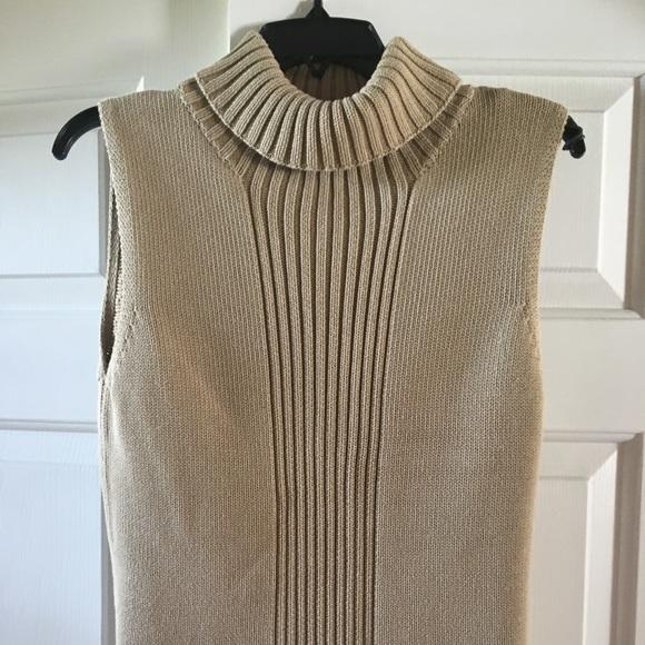 324d7f33740b7 Tommy Bahama Sweaters - Tommy Bahama Sleeveless Sweater - Tan - Small
